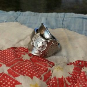 Rolex Spoon Ring